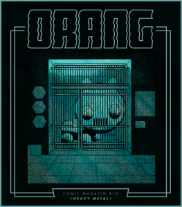 Orang No.10 – Cover by Sascha Hommer