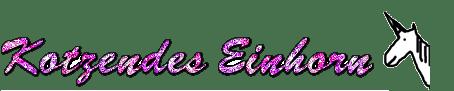 kotzendes einhorn original logo
