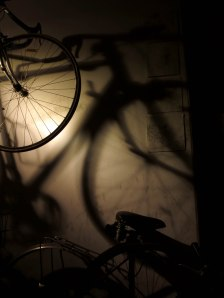 'Marlene Krause/Classic Cycles' by night