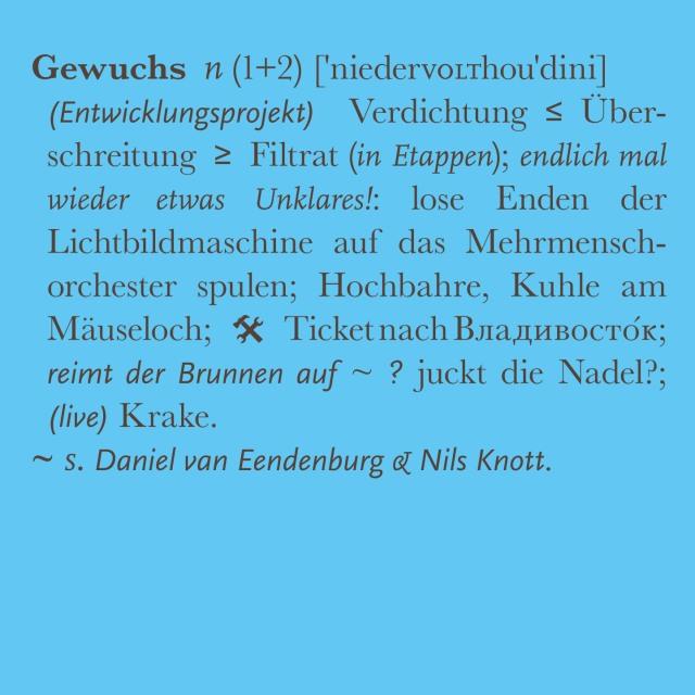 niedervolthoudini: Gewuchs – artwork by e_mol