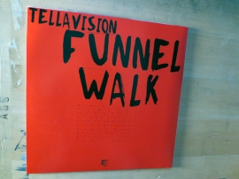 Tellavision – 'Funnel Walk', back cover /photo