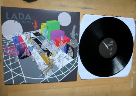 LADA – 'Vitamine', sleeve front, LP side A /photo