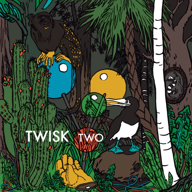 TWISK –'TWO'; cover for the digital release