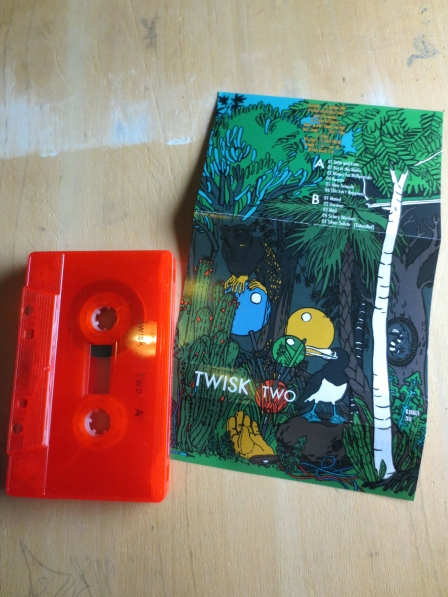 TWISK – 'TWO', inlay fold-out front, MC side A /pic