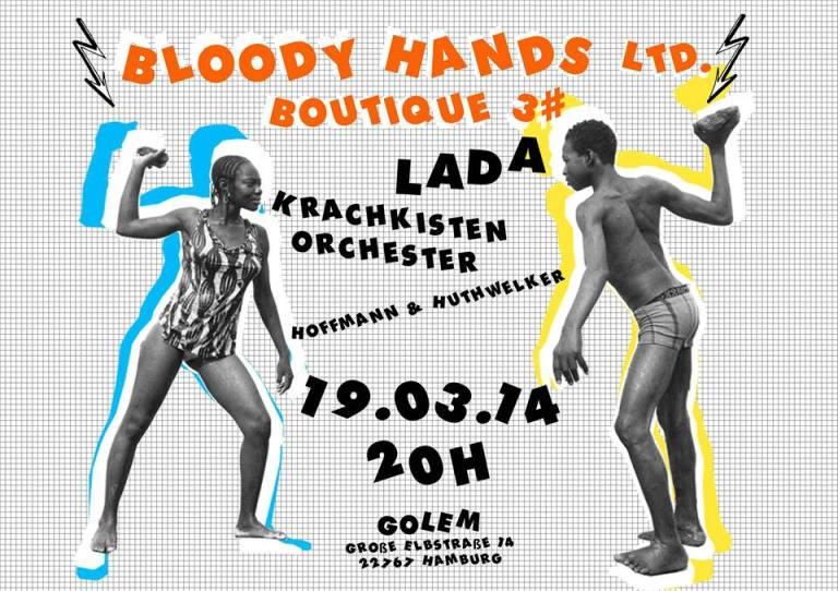Flyer by Tintin Patrone