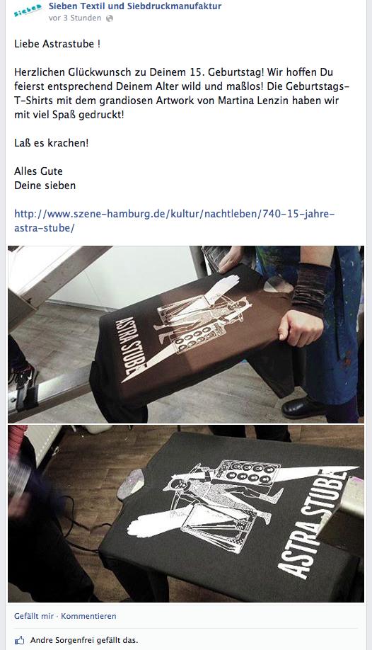 screenshot from SIEBEN's fb
