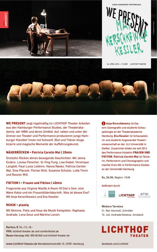 Flyer: Lichthof Theater