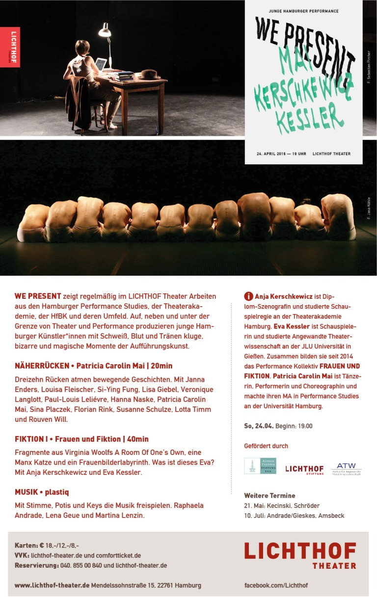 Flyer: Lichthof Theater
